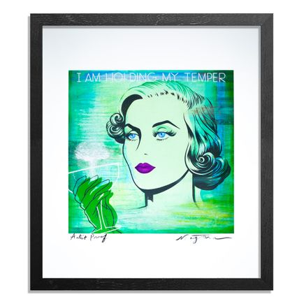 Niagara Art Print - Artist Proof - I Am Holding My Temper