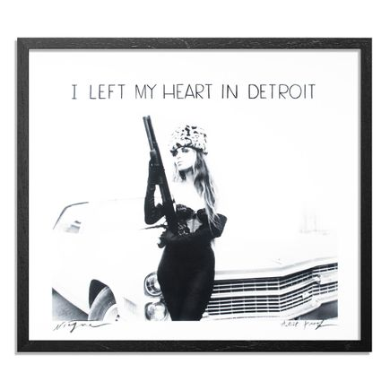 Niagara Art Print - Artist Proof - I Left My Heart In Detroit (With Words)