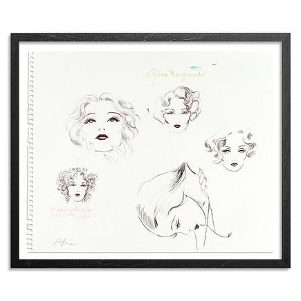 Niagara Original Art - Mademoiselle Opium - Original Sketch