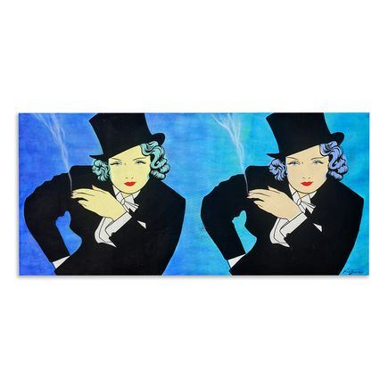 Niagara Original Art - Double Dietrich