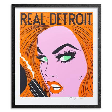 Niagara Art Print - Real Detroit - Limited Edition Print