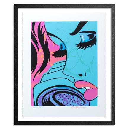 Niagara Art Print - AP #6 - Tin Teardrop - Hand-Painted Print