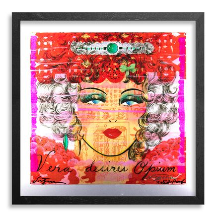 Niagara Art Print - Vera Desires Opium - Artist Proof on Metal