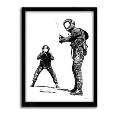 Nicholas Forker Art Print - Waiting For His Pitch 3