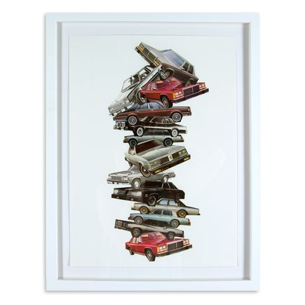 Nick Jaskey Original Art - Car Pile