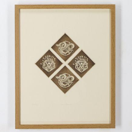 Lindsay Carr Original Art - Prismatic Combinations