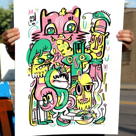 Jon Burgerman Art - MNoodle
