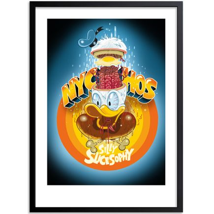 Nychos Art Print - Silly Slicesophy