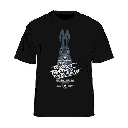 Nychos Art - Deepest Depths Of The Burrow - Medium T-Shirt