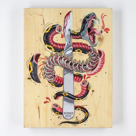 Nychos Original Art - I Slice For Livin