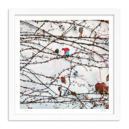 OakOak Art Print - Grape Harvest - Hand-Painted Multiples - Variant I