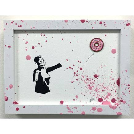 OakOak Original Art - Banksy vs. Homer (6 of 14)