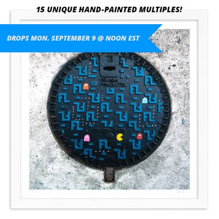 OakOak Art Print - Pac Man: Level I - Hand-Painted Multiples