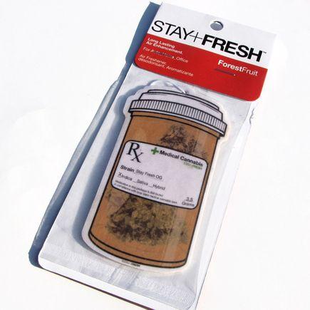 Stay+Fresh Art - OG Med Jar Air Freshener
