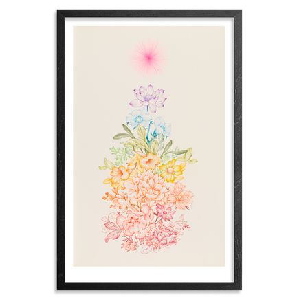 Ouizi Art Print - Full Spectrum - Hand-Embellished Prints