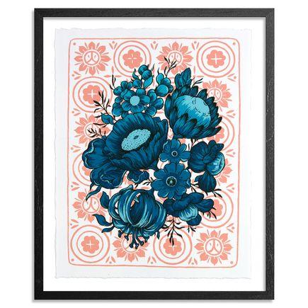 Ouizi Art Print - Huo - Framed