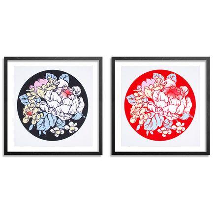 Ouizi Art Print - Lucky Garden - 2-Print Set