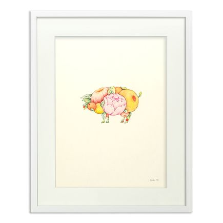 Ouizi Original Art - Lucky Pig