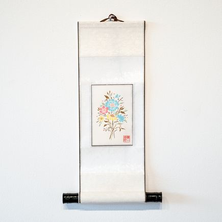 Ouizi Original Art - Silk Scroll I
