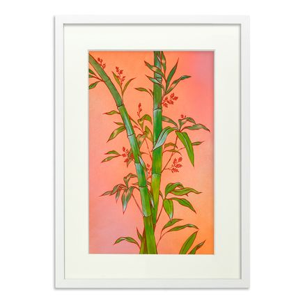 Ouizi Original Art - The Noble Bamboo Of Summer