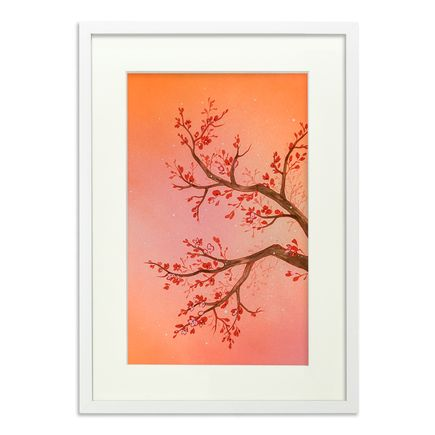 Ouizi Original Art - The Noble Plum Blossom Of Winter