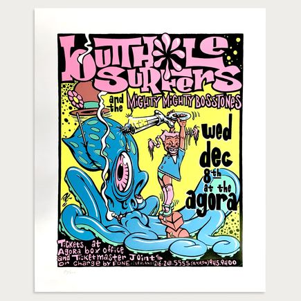 Pablo Art - Butthole Surfers - Dec. 8th at The Agora 1993