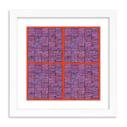 Pat Riot Art Print - Me, Myself, & Eyes (Pupilla Pluralis) - Blotter Edition