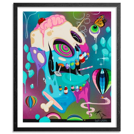 Patch Whisky Art - The Resurrection of the Candy Man - 14 x 17 Inch Edition - Framed