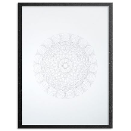 Patrick Ethen Art Print - Gravity Mandala - I