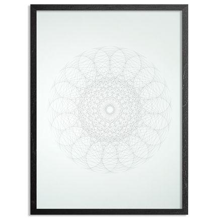 Patrick Ethen Art Print - Gravity Mandala - XI