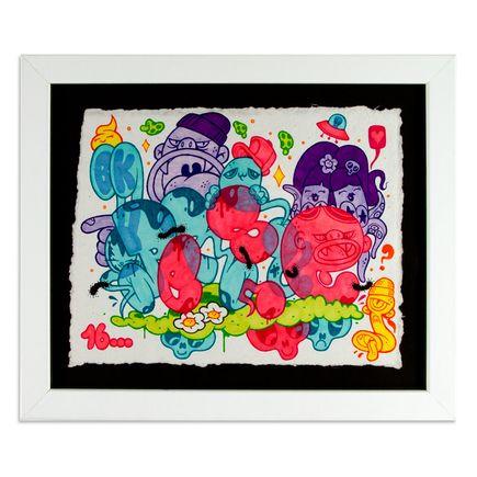 Persue Original Art - Bubbles