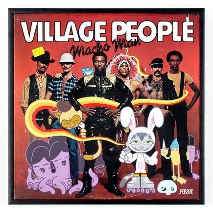 Persue Original Art - Macho BK & Friends