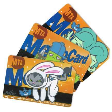 Bunny Kitty Art - MTA Card - 3 Card Set