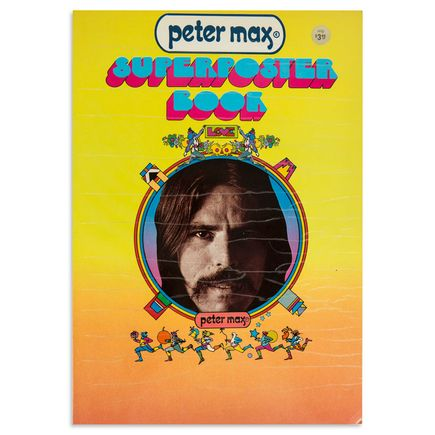 Peter Max Art - Peter Max Super Poster Book