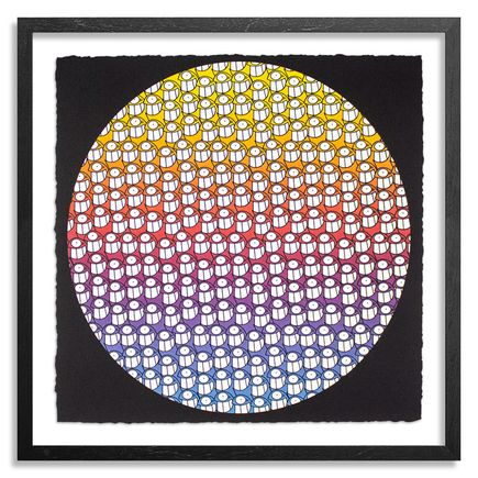 Pez Art Print - Happiness Circle - Standard Editon