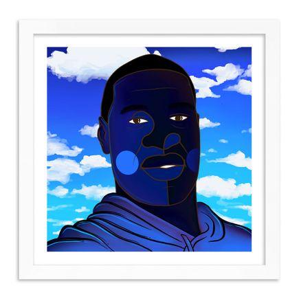 Phil Simpson Art Print - George Floyd