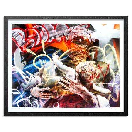 PichiAvo Art Print - Baco-La Nascita