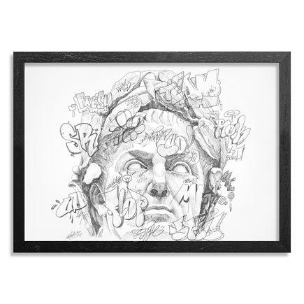 PichiAvo Original Art - IMP GAIVS JVLIUS CAESAR - Original Sketch I