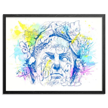 PichiAvo Art Print - IMP GAIVS JVLIUS CAESAR