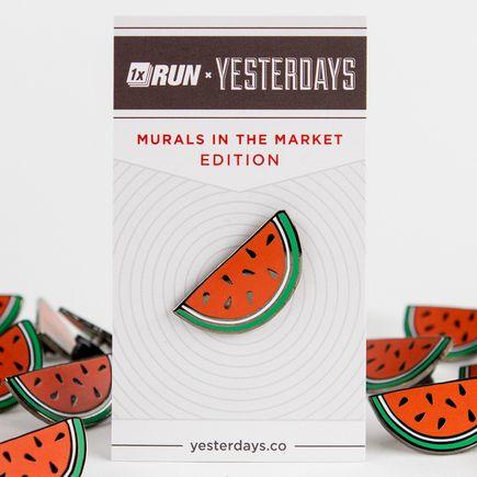 1xRUN x Yesterdays Present Art - Watermelon Yesterdays Pin
