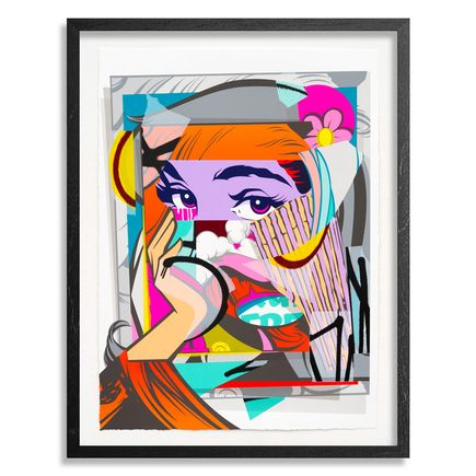 Pose Art Print - Mirror