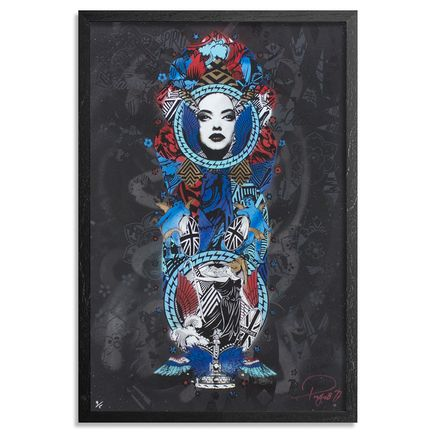 Prefab77 Art Print - Flaming Youth - Black Variant