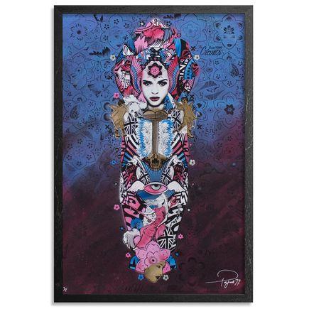 Prefab77 Art Print - Paradise Valley - Pink & Blue Variant