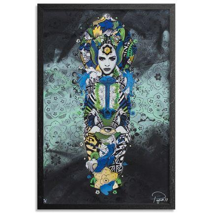 Prefab77 Art Print - Paradise Valley - Teal Variant