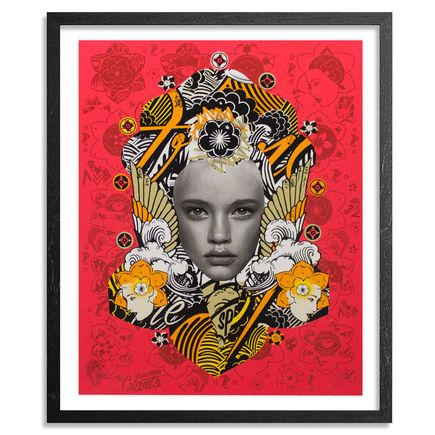 Prefab77 Art Print - Lady Of Rage - Red Variant