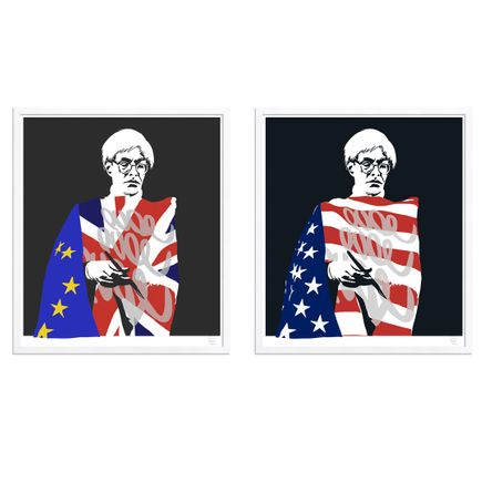 Pure Evil Art - 2-Print Set - Warhol Variants
