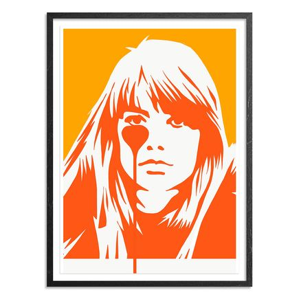 Pure Evil Art Print - Françoise Hardy - Jacques Dutronc's Nightmare - Endless Summer Variant