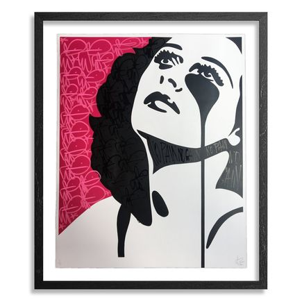 Pure Evil Art Print - Hedy, Watch the Stars (Hedy Lamarr, The Inventor) - Hand-Finished Red Variant 06