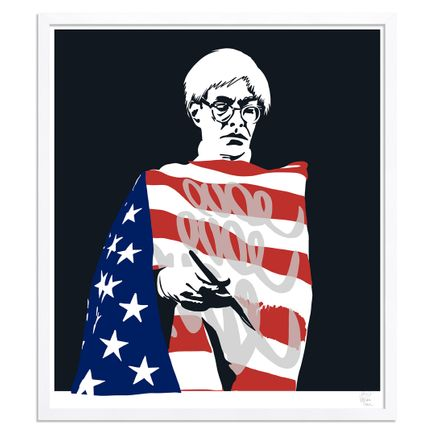 Pure Evil Art Print - Star-Spangled Warhol - Limited Edition Prints