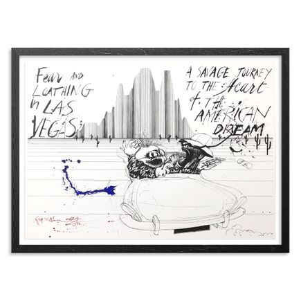 Ralph Steadman Art Print - Savage Journey : The American Dream Edition